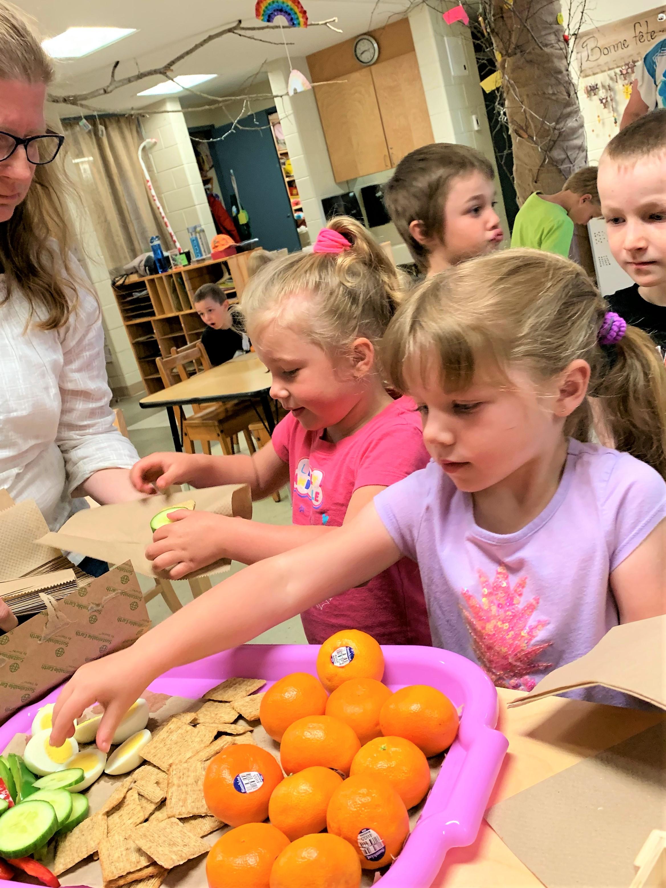 Programme de bonne nutrition des élèves